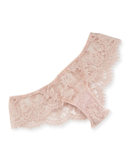 I.D. Sarrieri LA Ballerine Lace Briefs, Pink