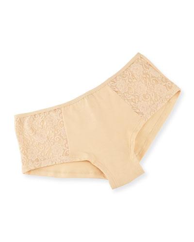 Arizona Low-Rise Lace Hotpants