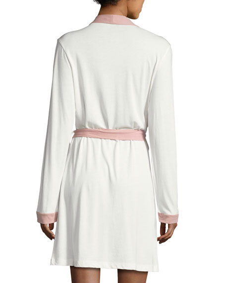 Bella Long-Sleeve Knit Robe