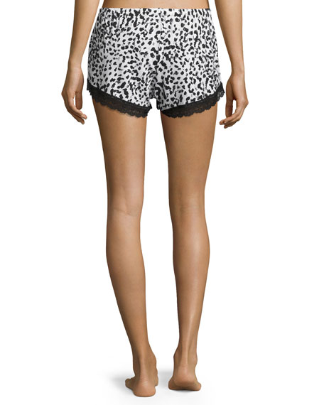 Majestic Print Boxer Shorts, Leopard