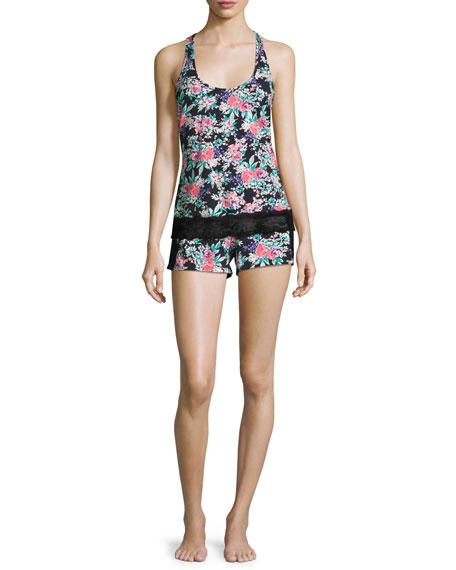 Dolce Floral-Print Boxer Shorts, Multi Pattern