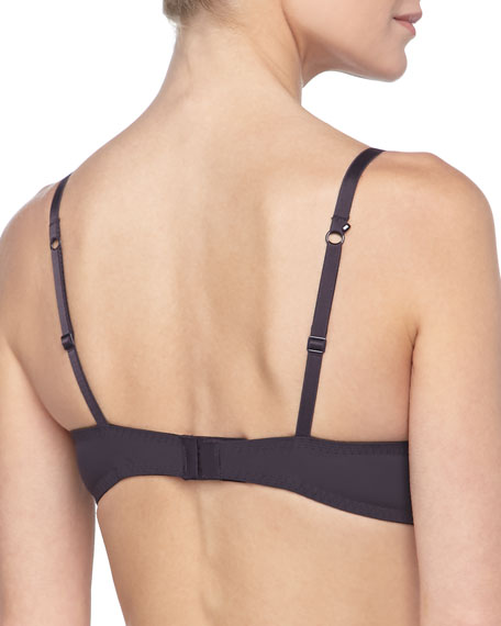 Amour Lace Pushup Bra, Anthracite