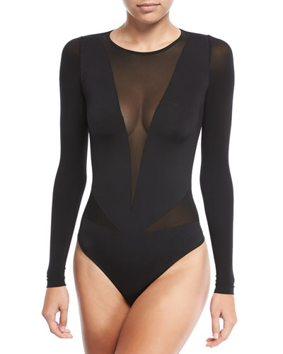 Sleek String Bodysuit