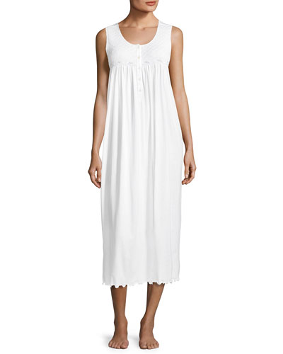 Betsy Sleeveless Long Smocke