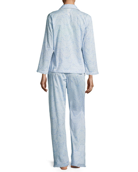 French Lace Classic Pajama Set