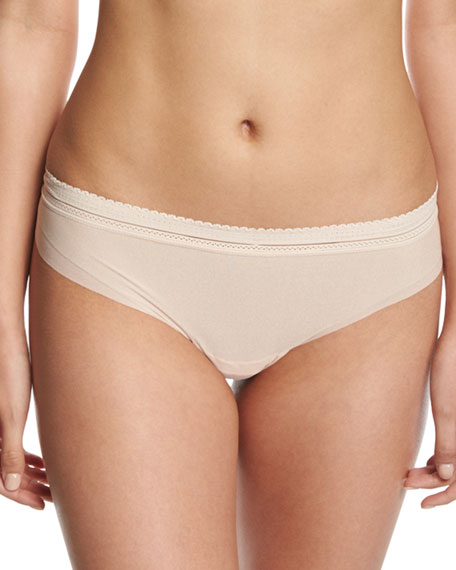 Aire Lace-Trim Thong