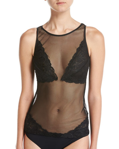 Bisou Illusion Camisole, Black