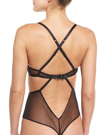 Flagrant Delice Cutout Thong Bodysuit