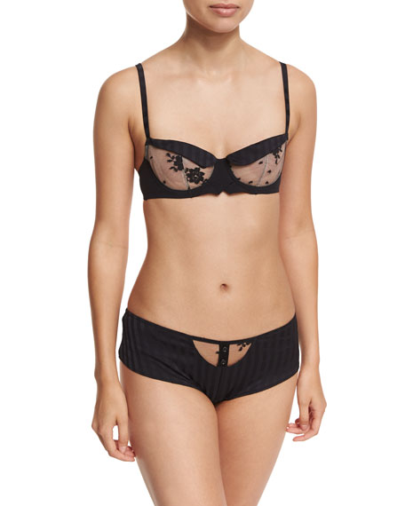 Chantal Thomass Sensationnelle Underwire Demi Bra and Matching