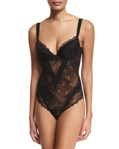 Dentelle Design Lace Bodysuit