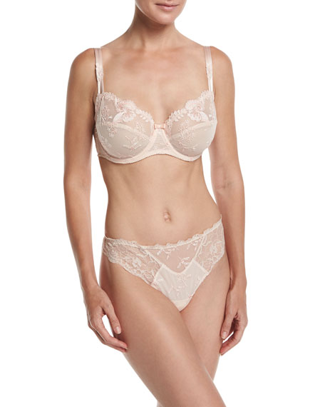 Raffinement Douceur Lace Demi Bra