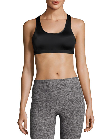 Half Moon Lux Compression Sports Bra