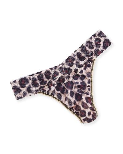 Sophisticat Original-Rise Lace Thong