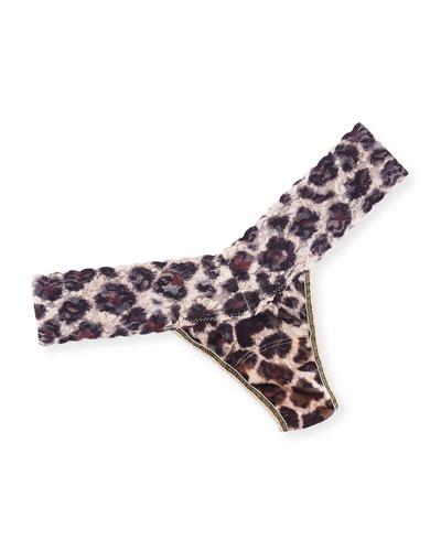 Sophisticat Low-Rise Lace Thong
