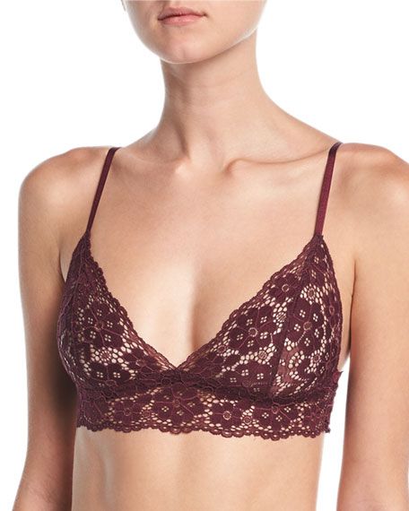 Hanky Panky Sophia Low-Rise Lace Thong and Matching