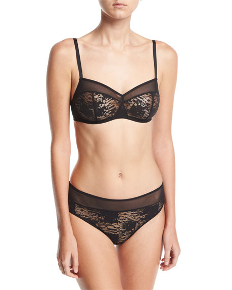 Hanro Mavie Soft-Cup Lace Bra and Matching Items