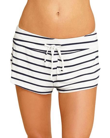 Eberjey Striped Lounge Shorts
