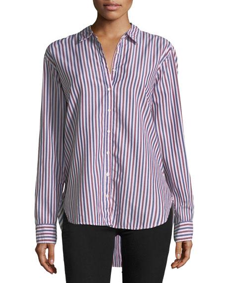 Yale Club Striped Lounge Shirt