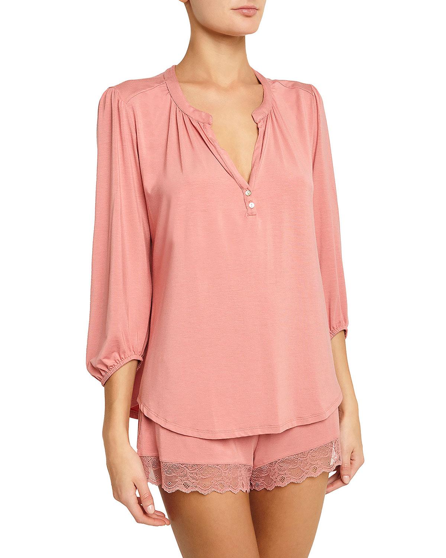 5460e8419a0 Eberjey Catalina Short Pajama Set