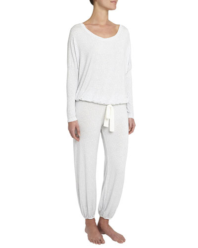 Mink Puff Slouchy Pajama Set