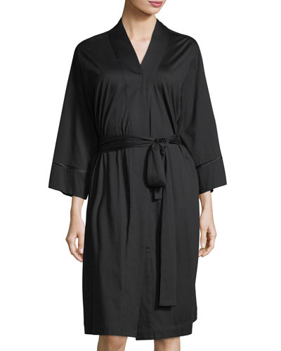 Bliss Cotton Short Robe