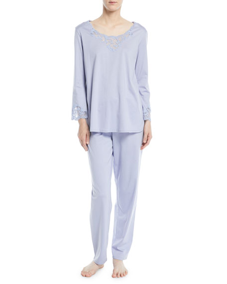 Bliss Long-Sleeve Pajama Set