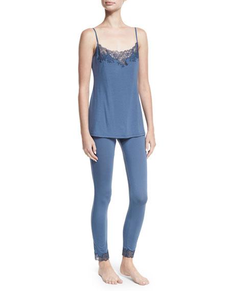 Undercover Lace-Trim Jersey Leggings