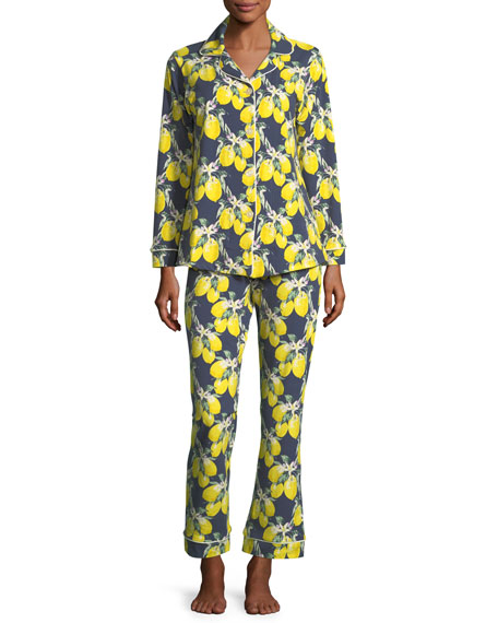 Bedhead Let's Make Lemonade Long-Sleeve Pajama Set