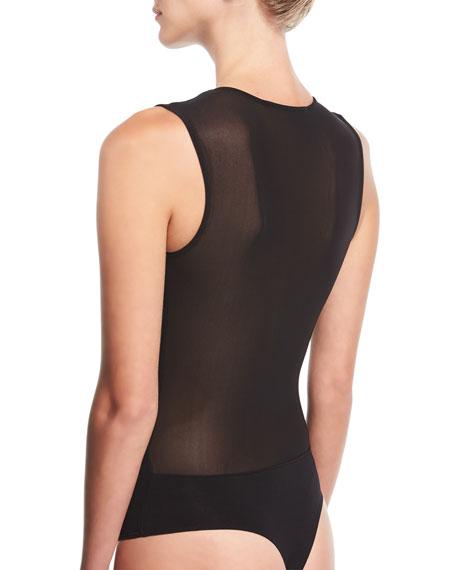 V-Plunge Jersey Bodysuit