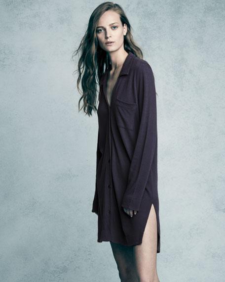 Leah Long-Sleeve Sleepshirt