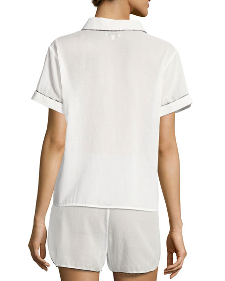 Tami Short Sleeve PJ Top
