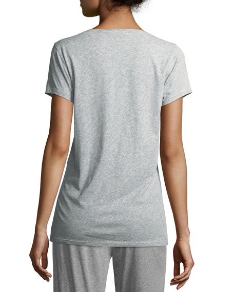 V-Neck Easy Cotton Tee