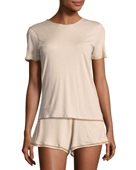 Skin Eulalie Short-Sleeve Lounge Tee and Matching Items