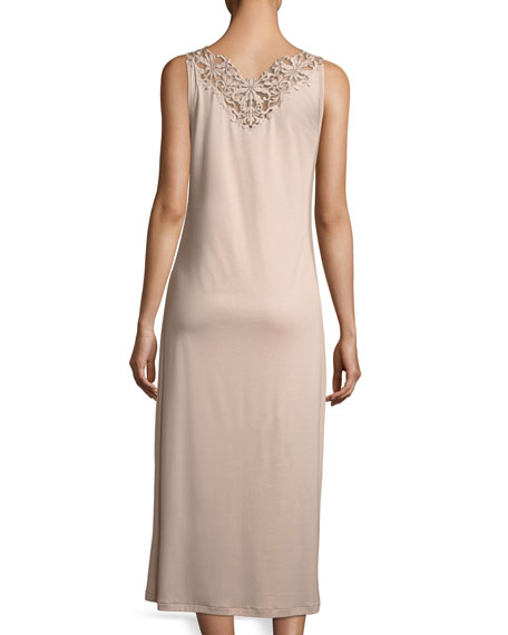 Pure Opulence Lace-Trim Nightgown