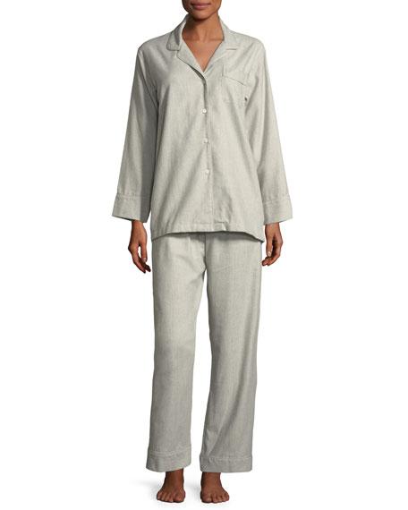 Sensual Opulence Long-Sleeve Pajama Set
