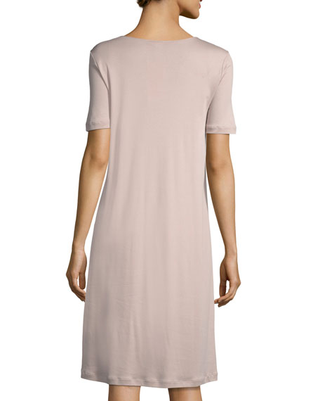 Violetta Short-Sleeve Nightgown