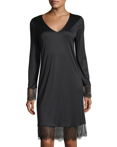 Estelle Long-Sleeve Nightgown