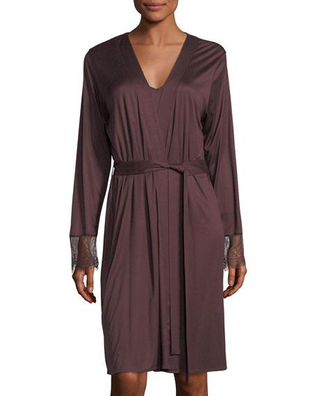 Hanro Estelle Jersey Robe