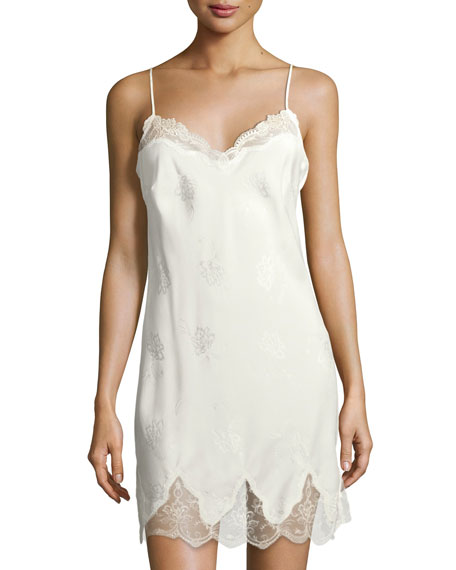Orchid Paradis Silk Chemise