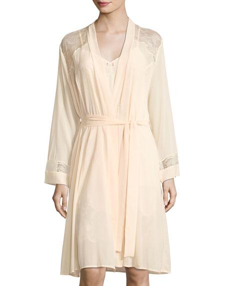 Lise Charmel Raffment Precieu Lace-Inset Robe