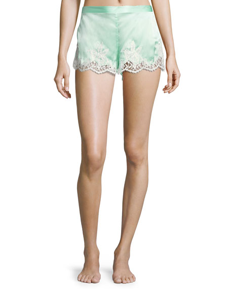 Lise Charmel Splendeur Silk-Blend PJ Shorts