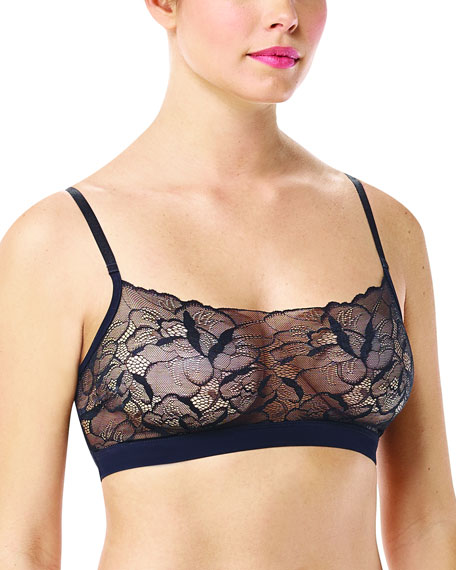 Commando Love Lust Sheer Lace Bralette