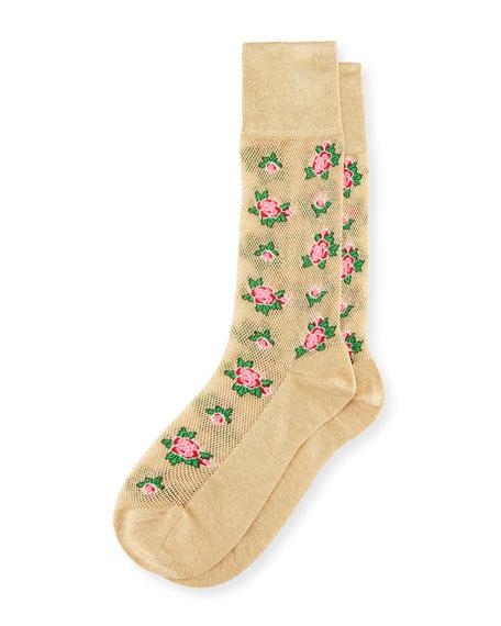 Mira Rosebud Socks