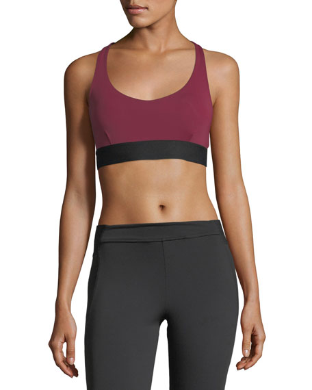 Y-Back Scoop-Neck Performance Sports Bra