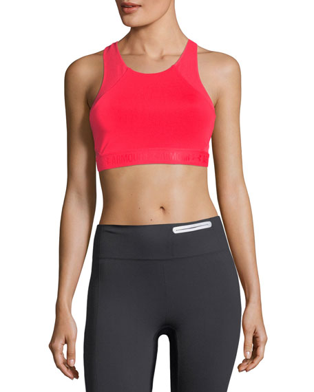 Under Armour Breathelux Mid Performance Sports Bra