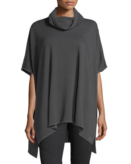 Brushed Jersey Poncho