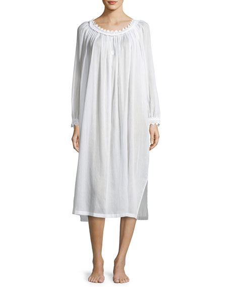 Celestine Danielle Long-Sleeve Nightgown