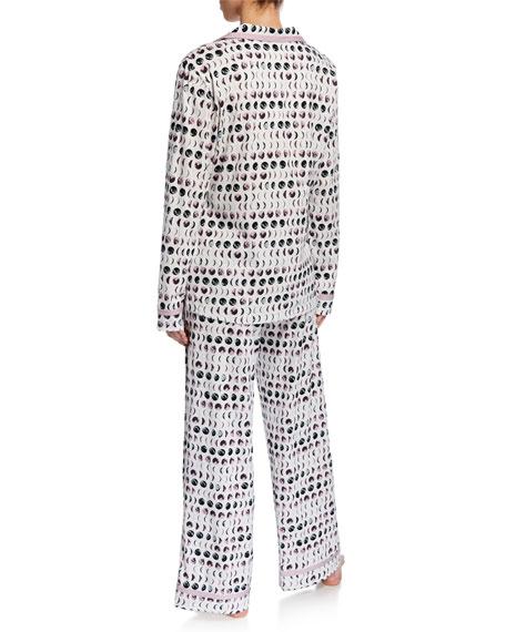 Bella Printed Long-Sleeve PJ Set