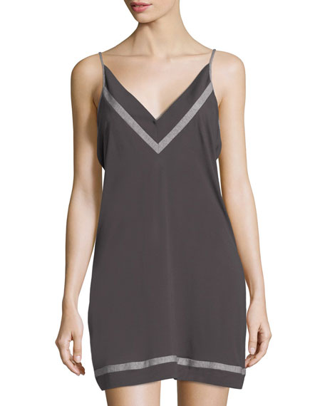 Cosabella Hustle Contrast-Trim Chemise and Matching Items