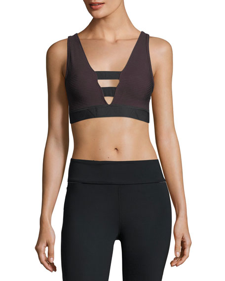 Alala Kea Reversible Ribbed Performance Crop Top
